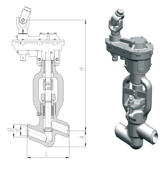 Клапан 1054-50-ЦЗ