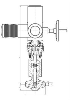Клапан 1057-65-ЭДА - фото 3956