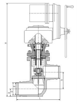 Клапан 1541-150-Э-02 - фото 3973