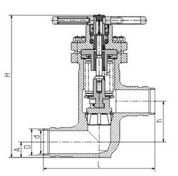 Клапан 1541-80-МШ - фото 3977