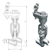 Клапан 1053-50-ЦЗ