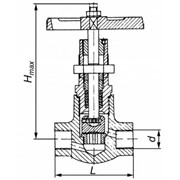 Клапан 15с57бк