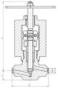 Клапан 1C-11-1М